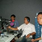 on air @Bali FM with Bali Blogger Community