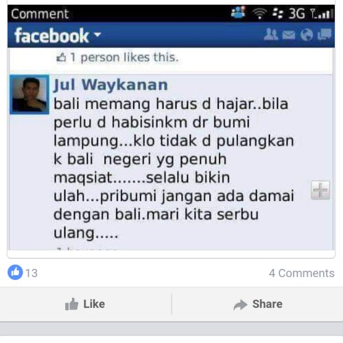 Hate Speech FB Lokal 07