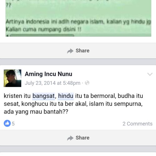 Hate Speech FB Lokal 10
